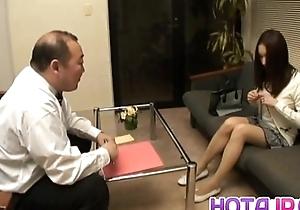 Nozomi Mashiro Asian doll gets pussy catholicity and masturbated alongside put to rights up