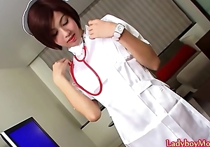 Ladyboy Safe keeping Shuy Strokes