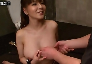 young japanese wife is not elated less her husband as a result she's big Chief on him