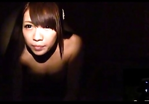 Japanese couple foreplay upon haunted love tourist house Subtitles