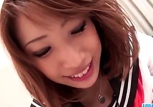 Aya Sakuraba receives creampied after riding on load of shit