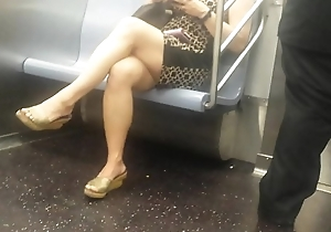 Juicy Asian Hooves on train