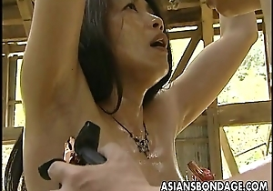 Asian hooker roped there ergo prexy can fuck will not hear of