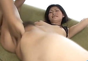 Ryo Sasaki acquires pleasure from a grown fake penis