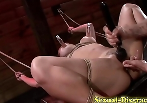 Oriental bondage deepthroat