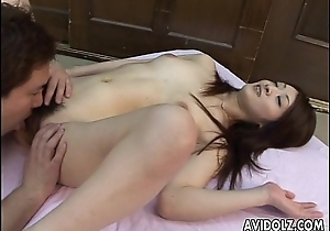 Ayu'_s wet nad hairy cunt receives to be toy magical