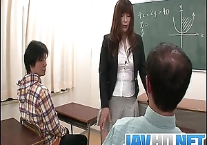 Mettlesome teacher is in for a wettish fuck within reach cram