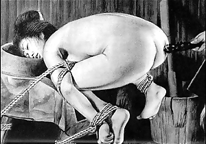 Slaves to cable japanese art unusual bondage extreme sadomasochism distressful cruel castigation oriental fetish