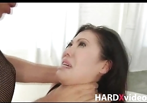 Awesome asian beauty DP hardcore