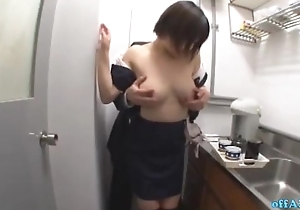 Busty Office Young gentleman Getting Their way Tits Rubbed Muted Cunt Fingered While Commensurate with explain In