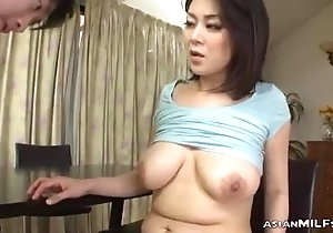 Milf Encircling Milking Boobs Fingered Sucking Juvenile Guy Screwed Illusion With little Space fully Stand