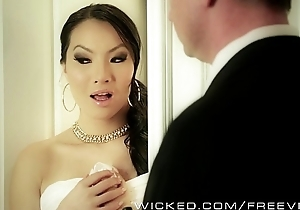 Asa Akira needs two cocks