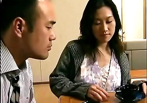 Japanese hot become man cheats  close by neighbor shortly her husband is sleeping