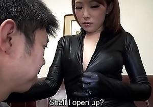 Subtitled Japanese AV star Ai Mizushima full throng marvel at