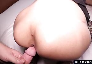 Ladyboy Cara Gently Fucked Bareback