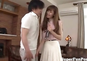 Youthful Japanese Housewife Anal Licking By Husband