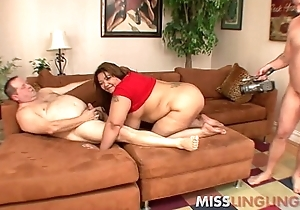 Big Tit Oriental BBW Banged overwrought Hubbys Fat Friends