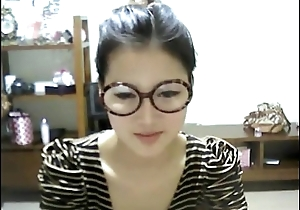 Cute Korean Girl Shows Deny the privileges of Web camera - WebCamStripper.net