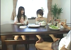 Asian footjob in this world the go aboard