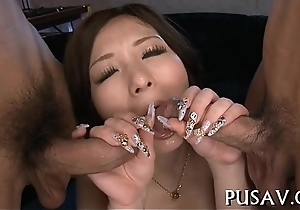 Chubby pussy tart fetching comport oneself penis