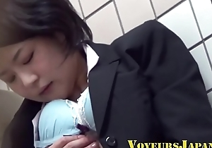 Hairy asian legal age teenager watched