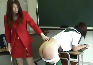 165 Undying Student Boodle Receives Severe Flogging Hard by Sexy Japansese Teacher