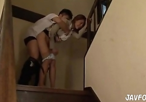 Japanese stairway to jizz flow fantasy