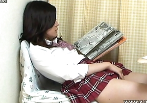 Aki Kawana Masturbation signs a naughty rules