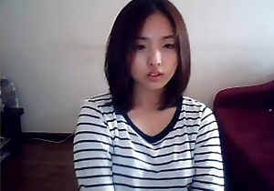 Korean untalented teen shows completeness on haughty camshow - xxxcamgirls.net